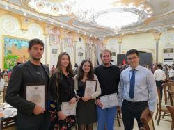 Successful participation of FNSPE students at the First Al-Khorezmi International Mathematical Olympiad